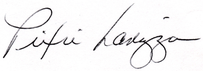 Pixie Larizza's Signature