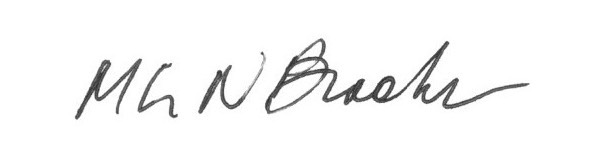 Margaret Brooks's Signature