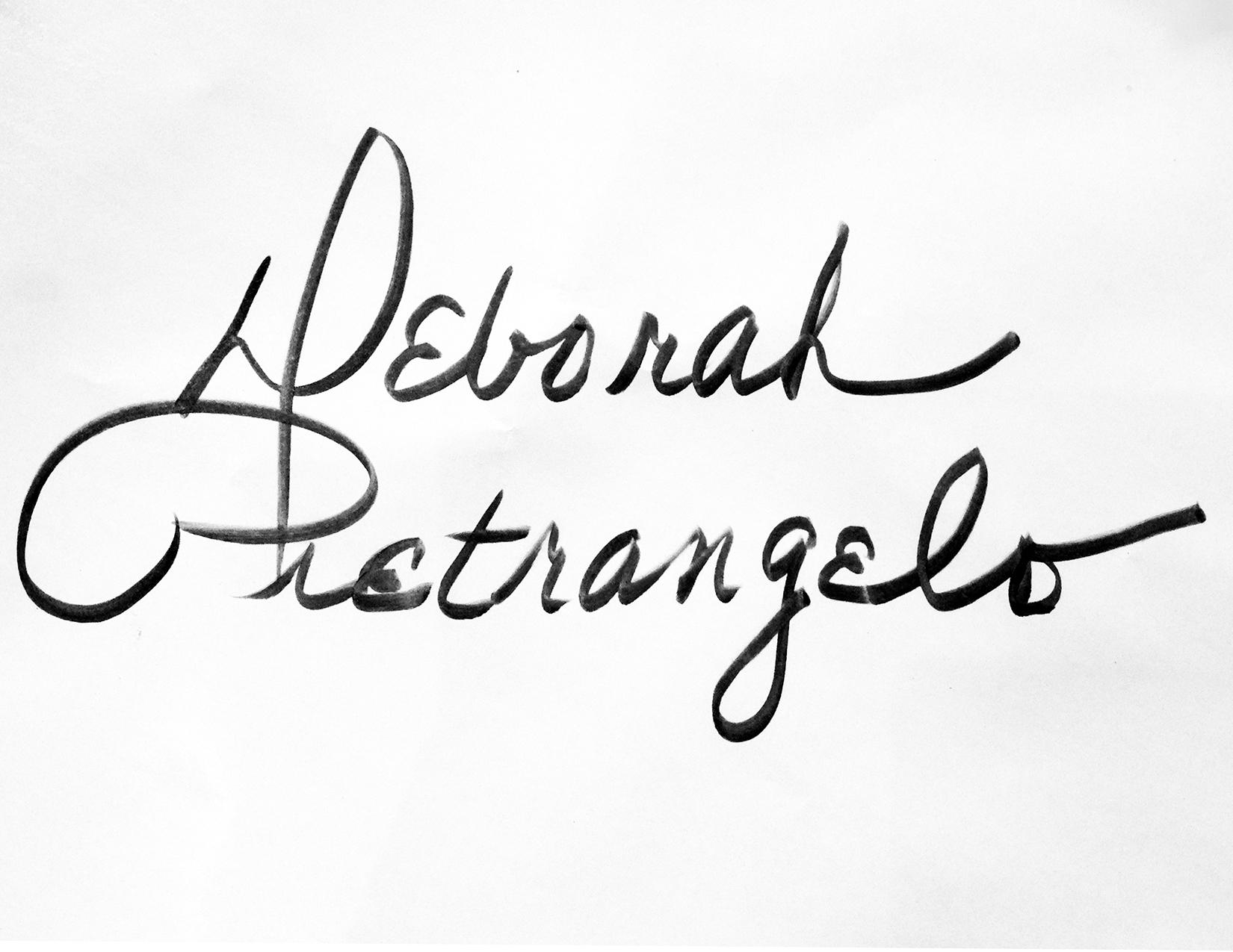 Deborah Pietrangelo's Signature