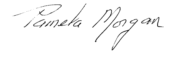Pamela Morgan's Signature