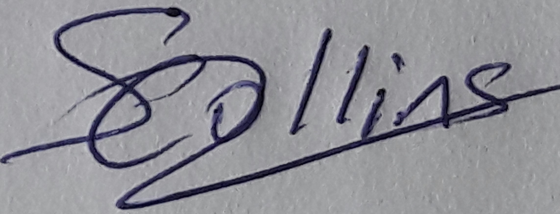 Solomon Collins's Signature
