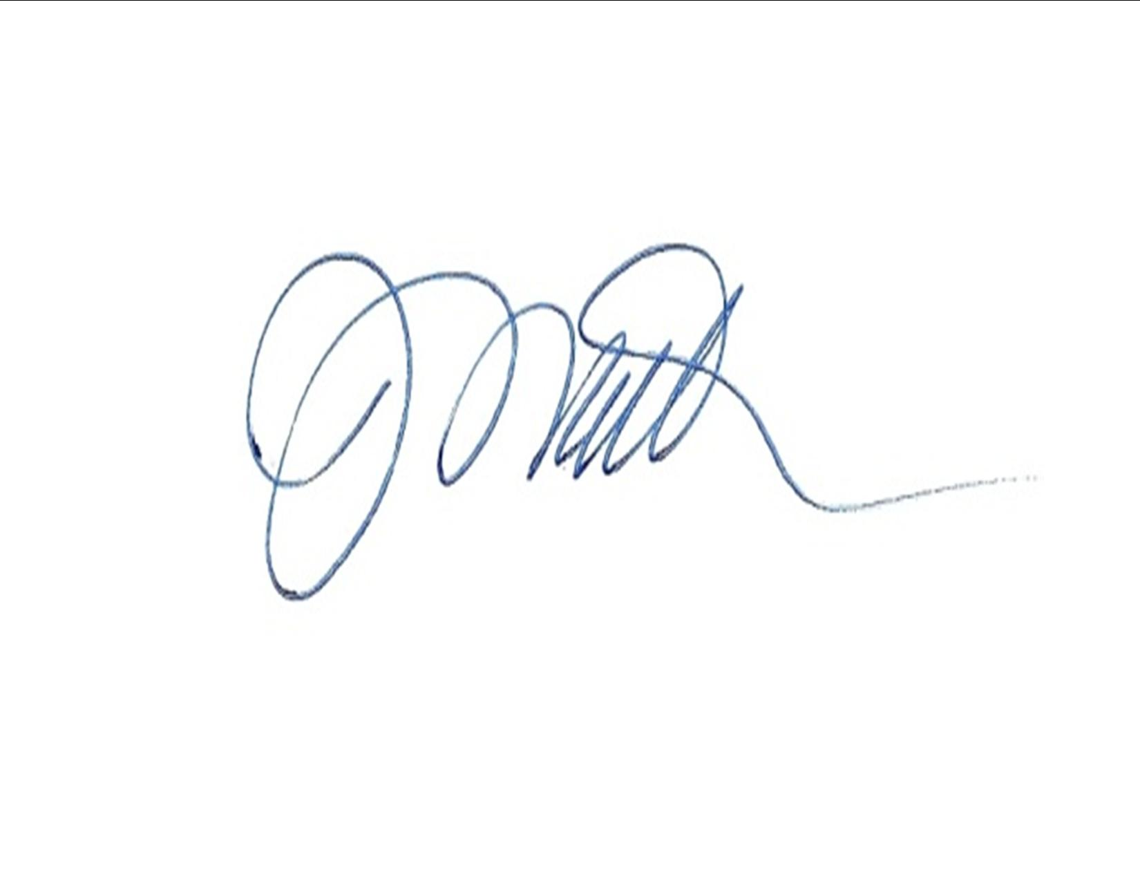 JACK MATTHEWS's Signature