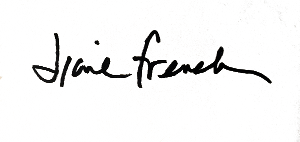 Diane French's Signature