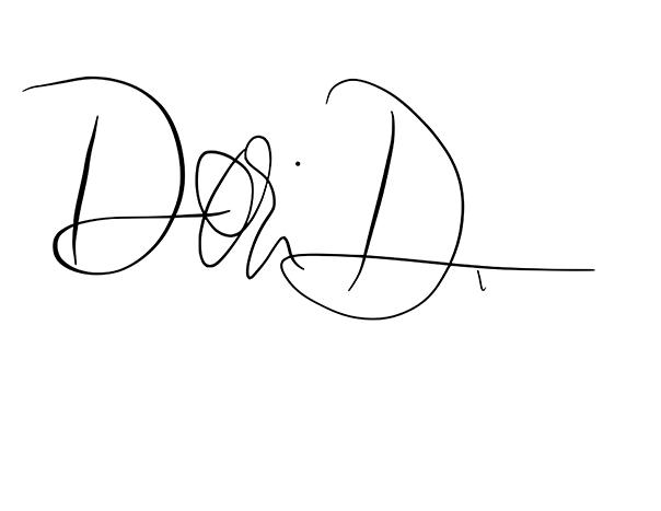 Dori Aldinger's Signature