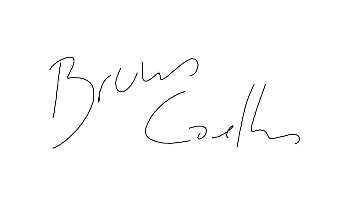 BRUNO COELHO's Signature