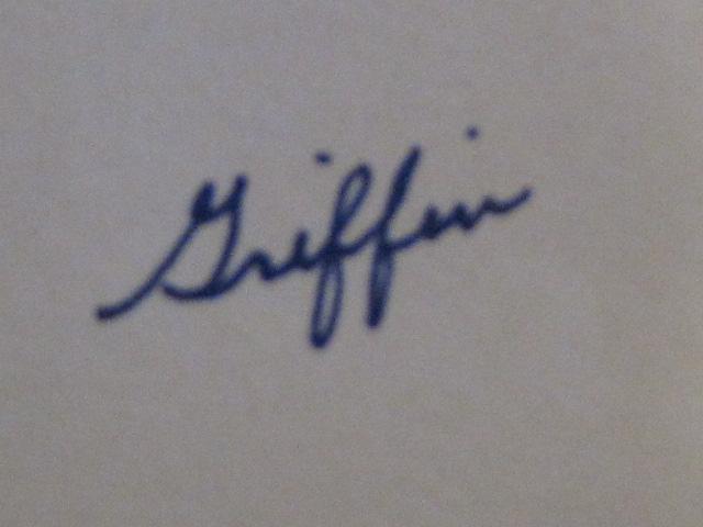 Butch Griffin's Signature