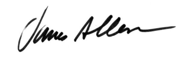 James  Allen's Signature