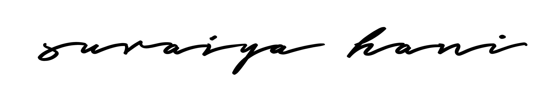 suraiyahani37's Signature