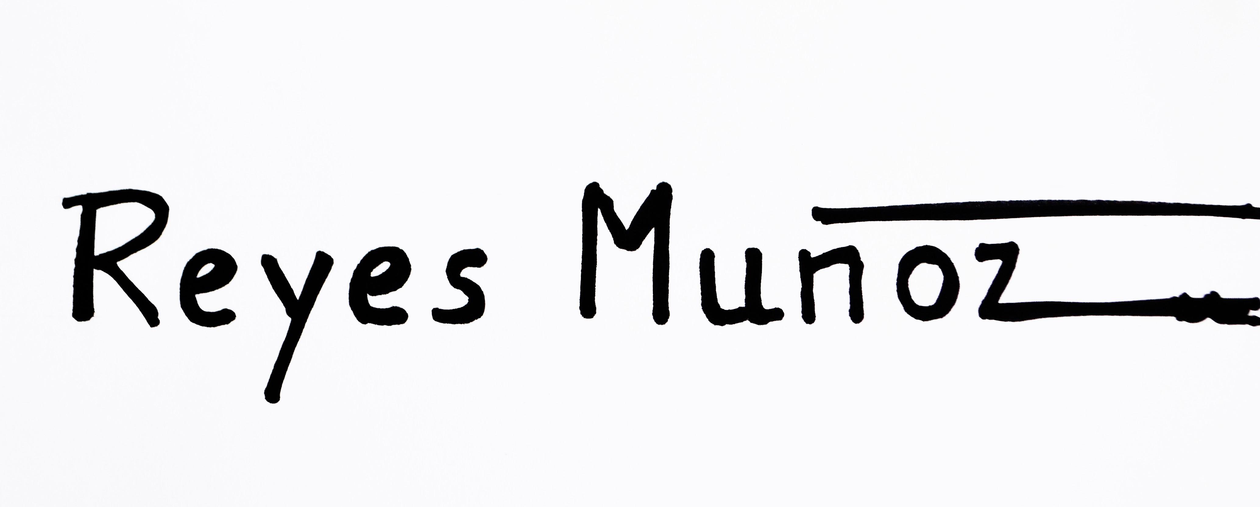 REYES MUÑOZ's Signature