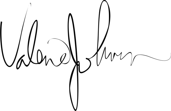 Valerie Johnson's Signature