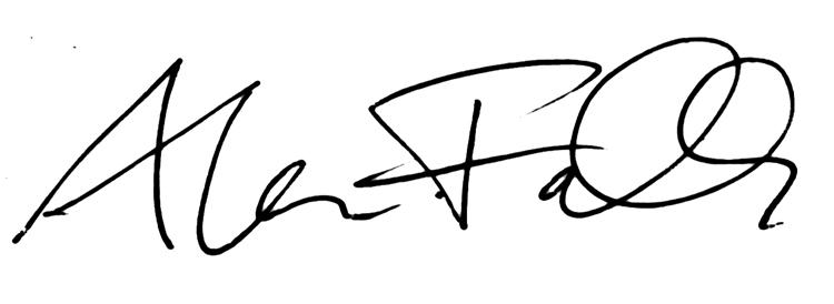 Alan Falk's Signature