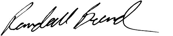 Randall Beard's Signature
