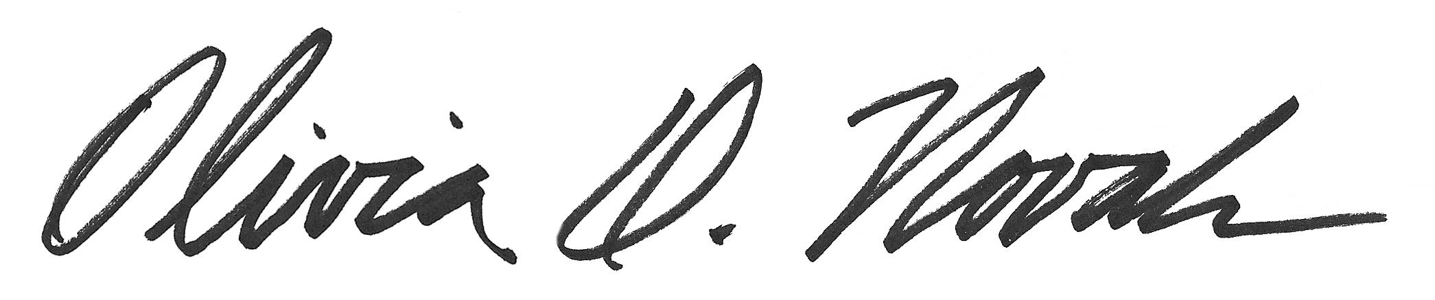 Olivia Novak's Signature