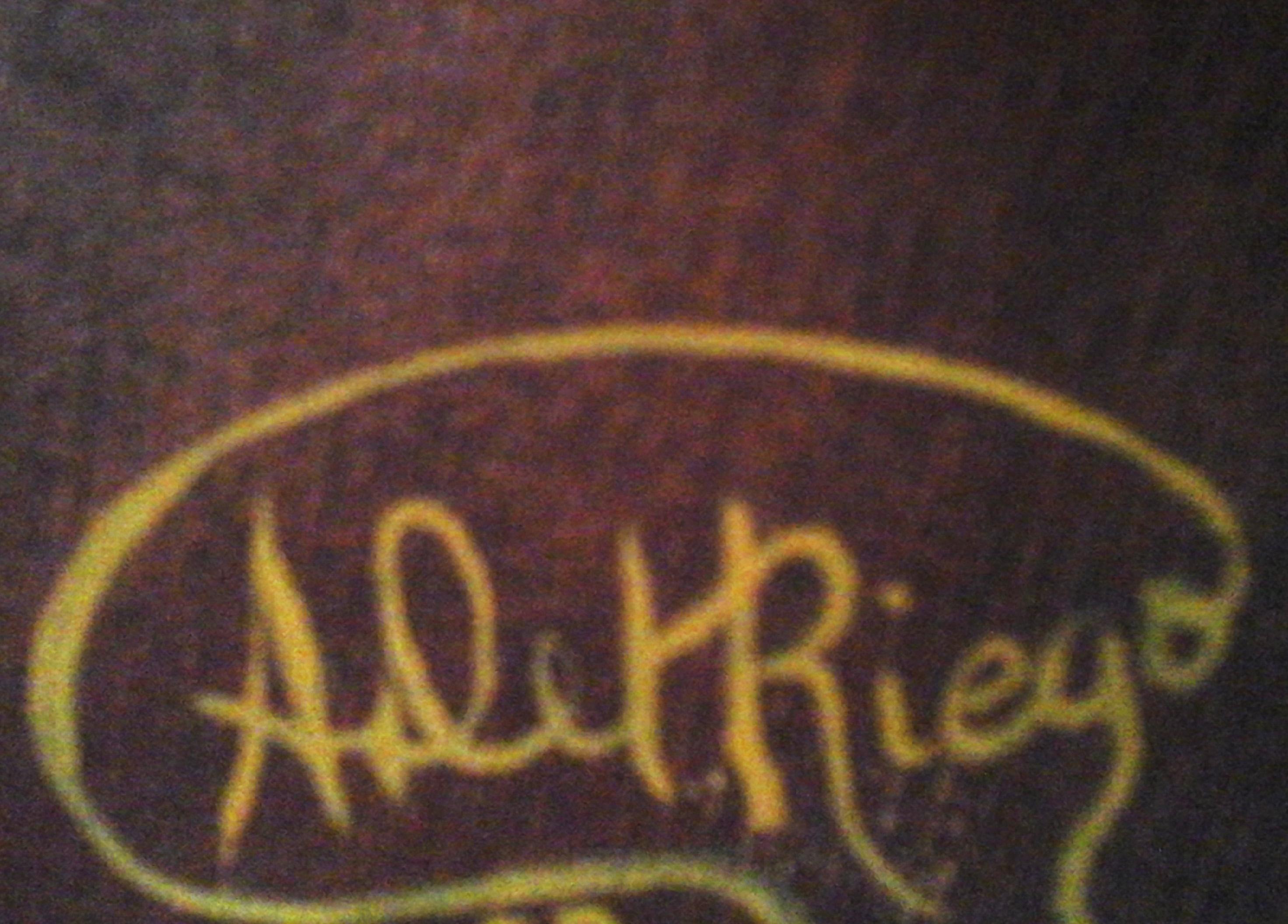 Angie Del Riego's Signature