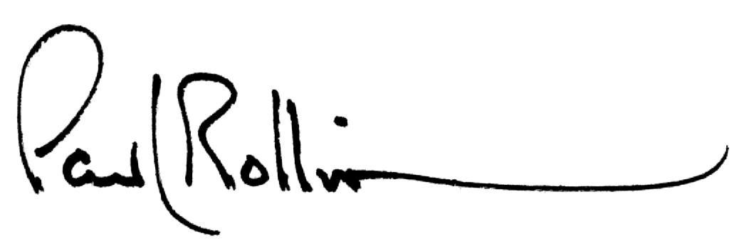 Paul Rollin's Signature
