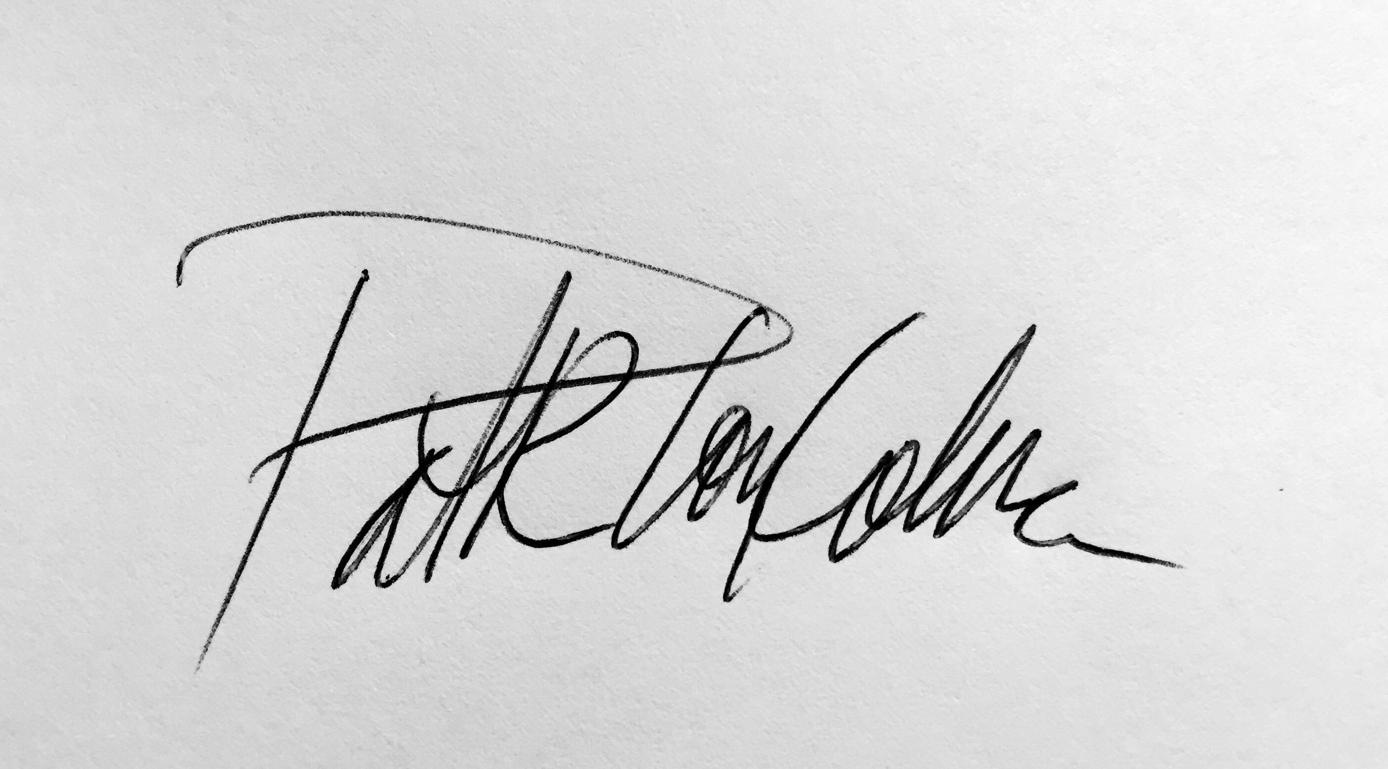 Patricia Loy-Colebank's Signature