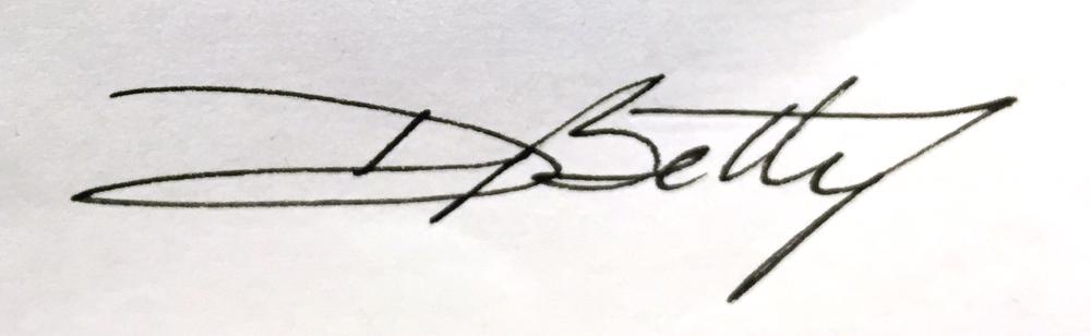 Desire Betty's Signature