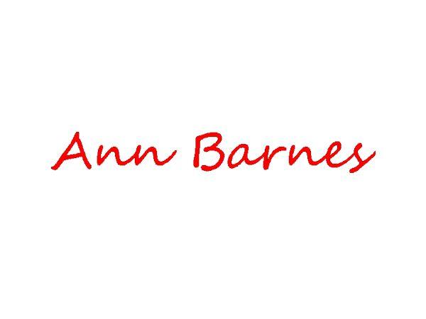 Ann Barnes's Signature
