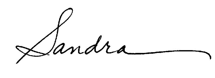 Sandra Mackey's Signature