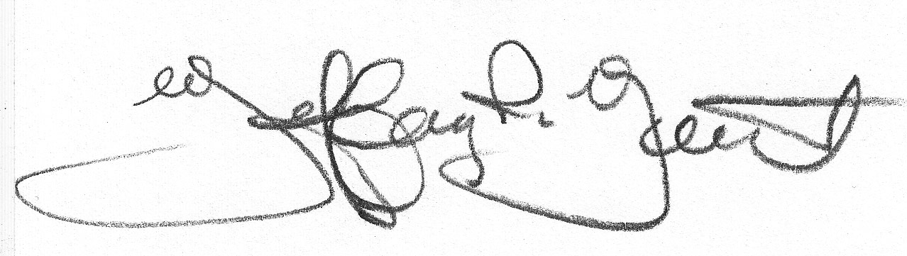 Jeffrey Yount's Signature