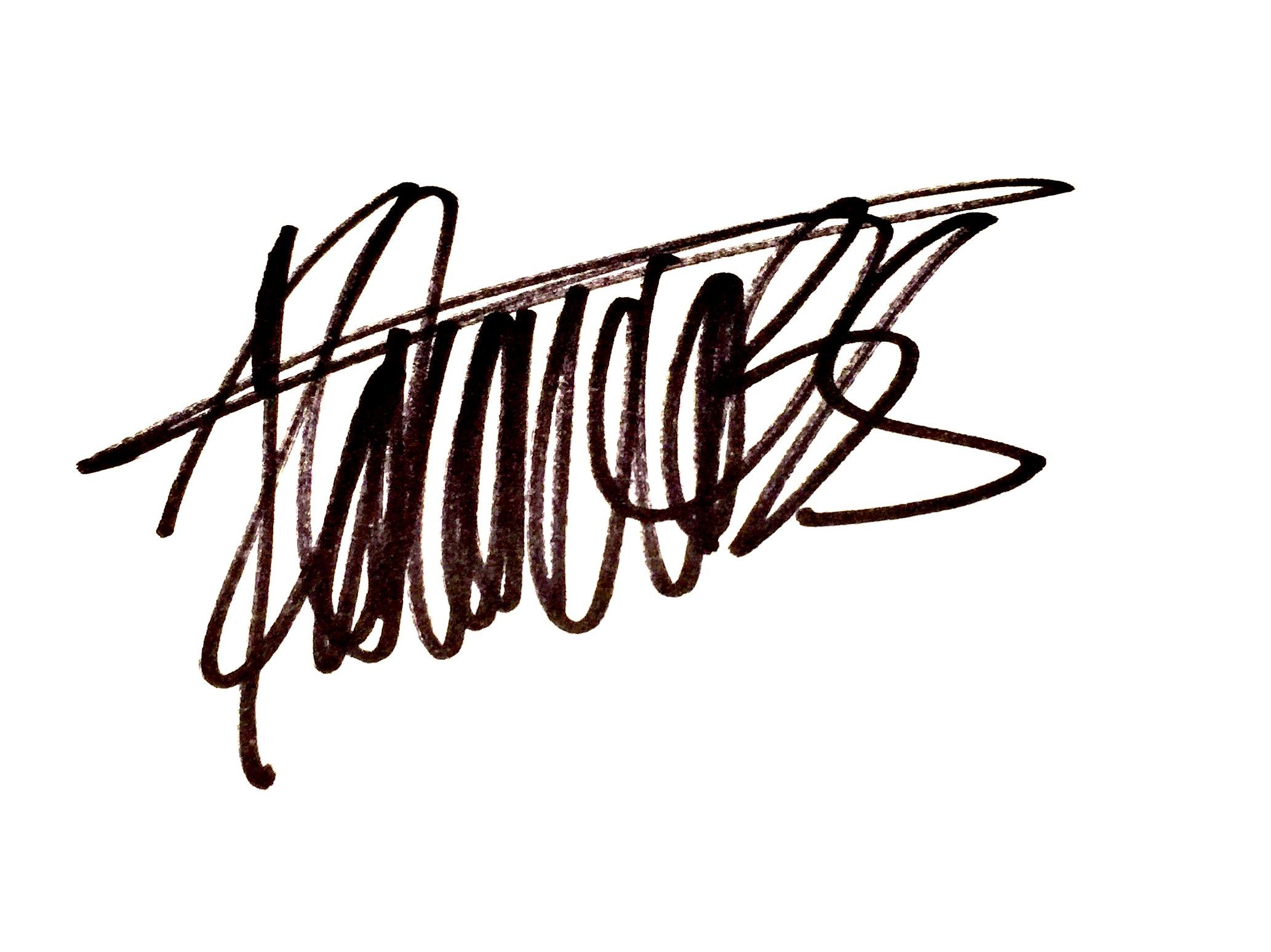 Roberto Bernal's Signature