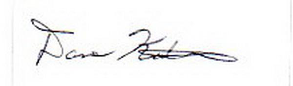 Dave kutchukian's Signature