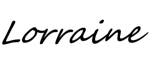 Lorraine Hubbard's Signature