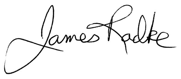 James Radke's Signature