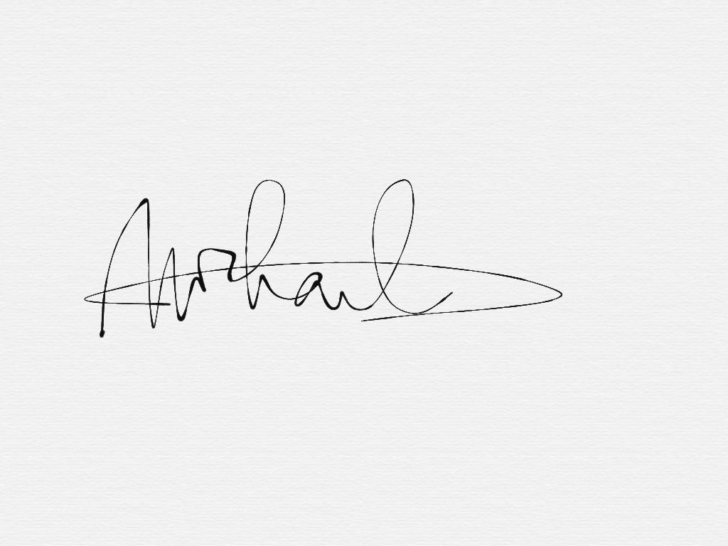 Michael Wong Loi Sing's Signature