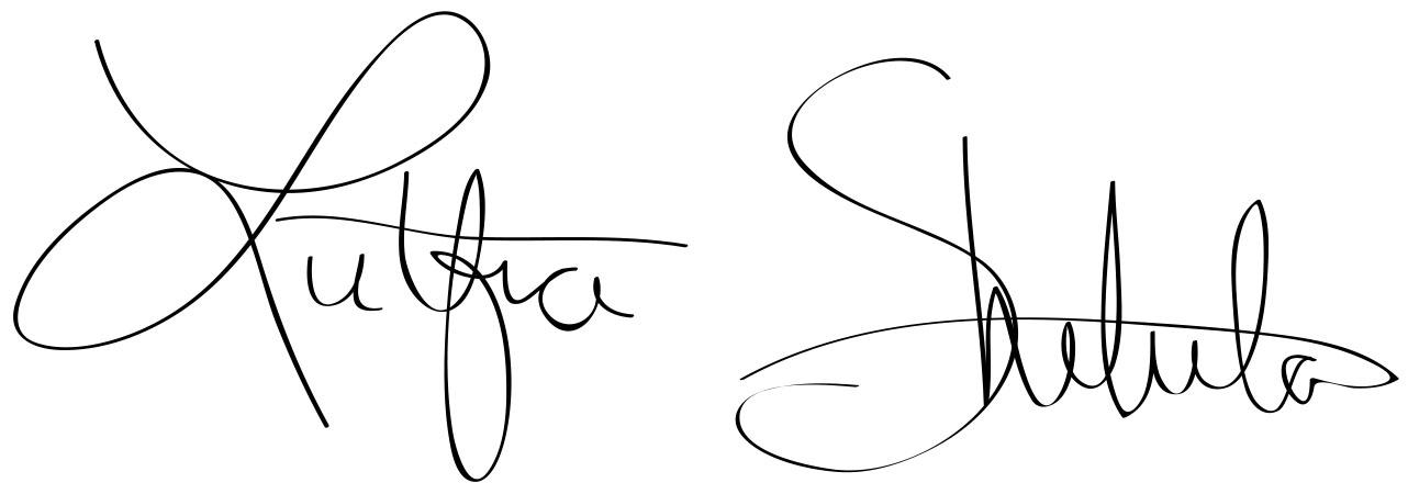 Lutfia Shetula's Signature