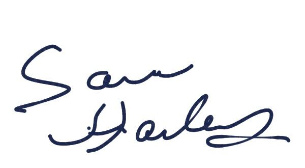Sara Hailey's Signature