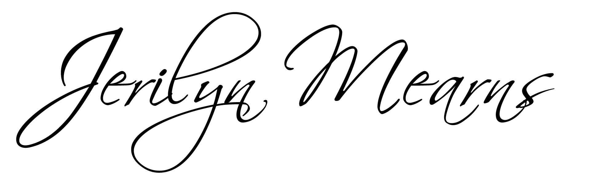 Jeri Mearns's Signature