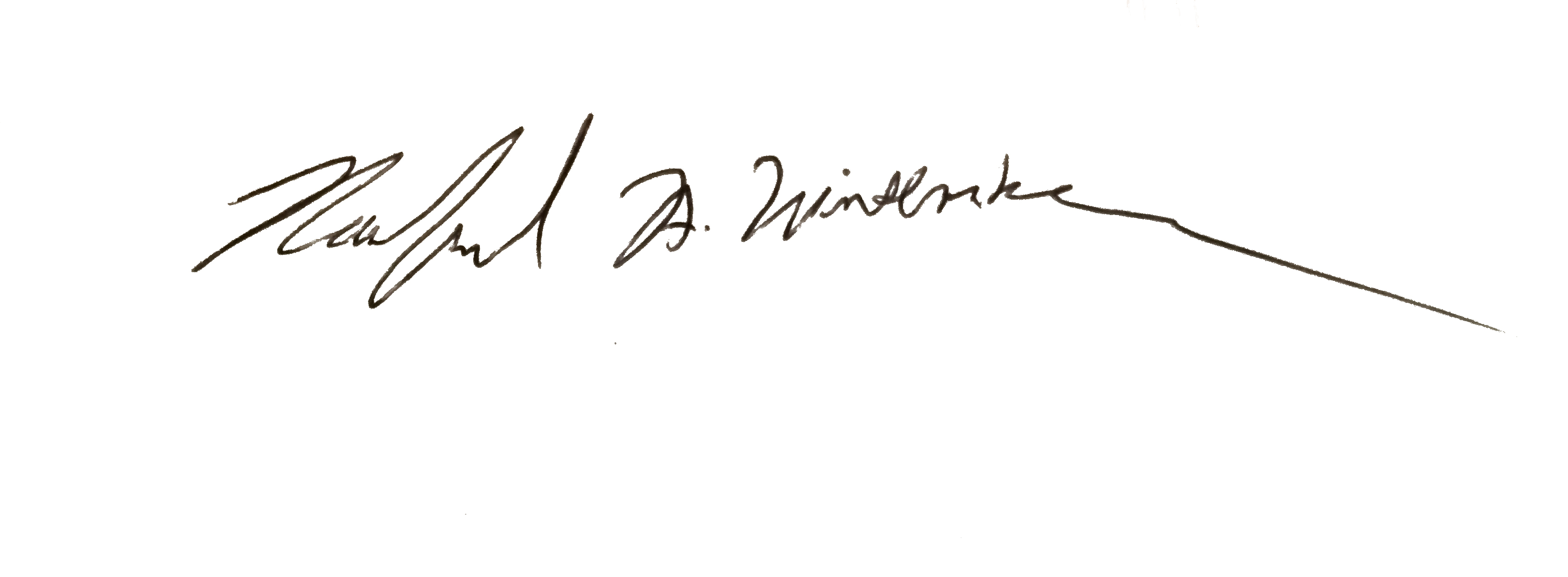 Rachel Wintemberg's Signature