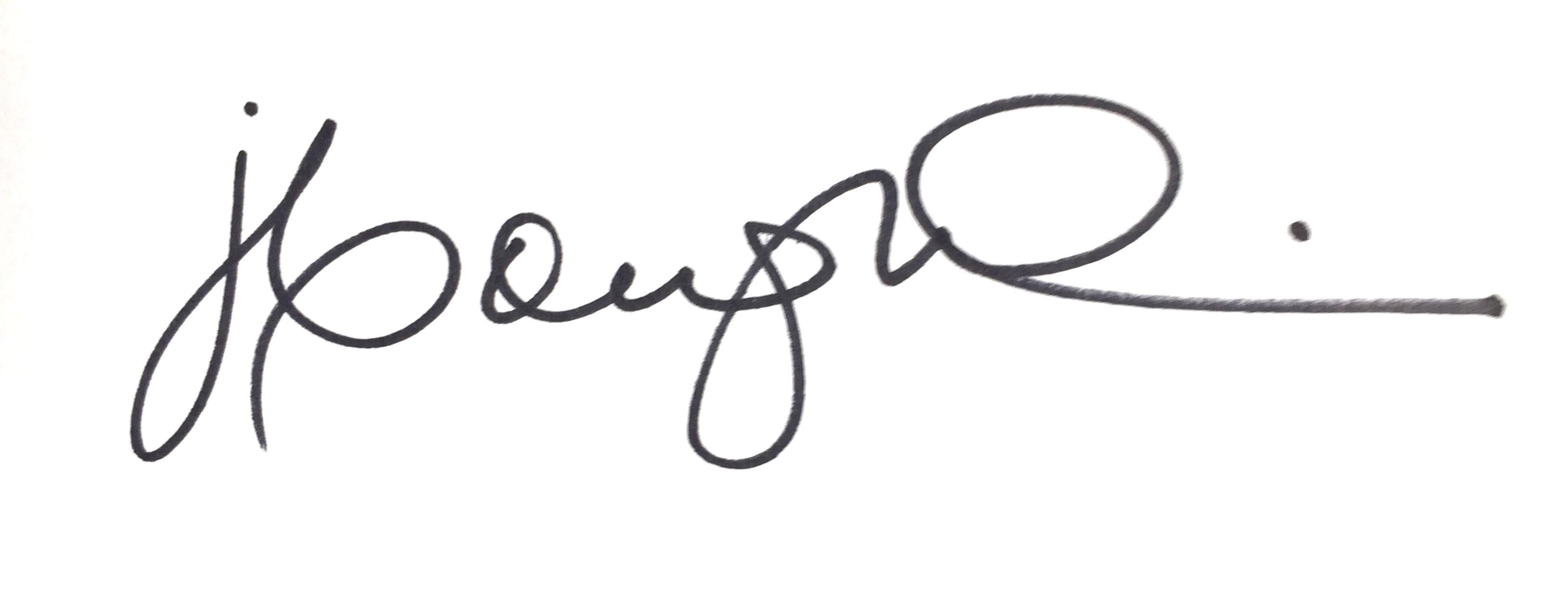 Joanne coughlin's Signature