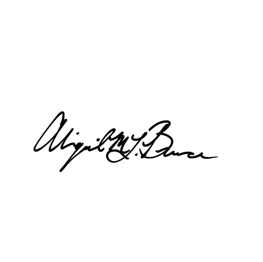 Abigail Bruce's Signature