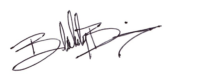 Blakely Bering's Signature
