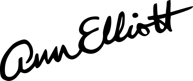 Ann Elliott's Signature