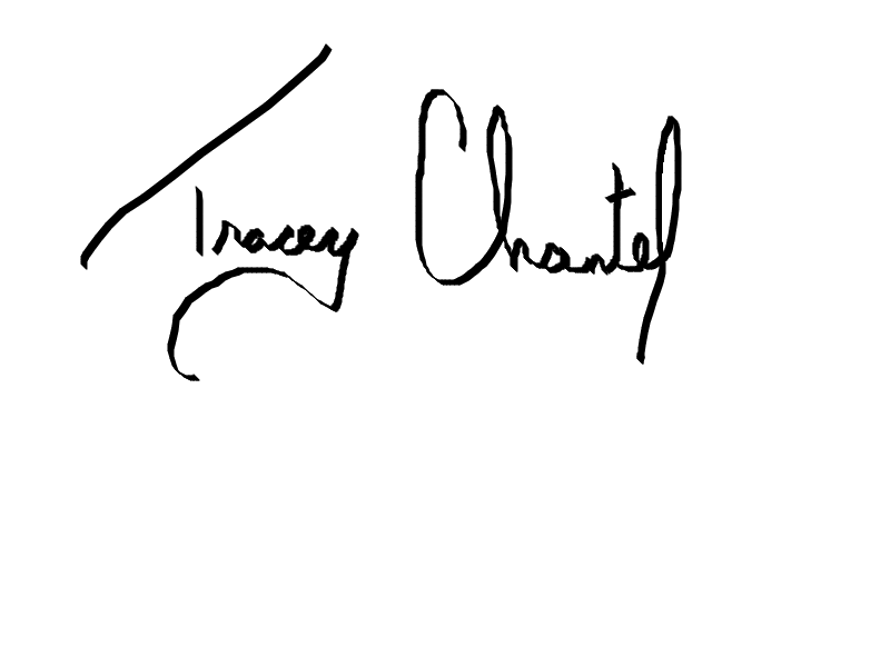 Tracey Chantel Marshall's Signature