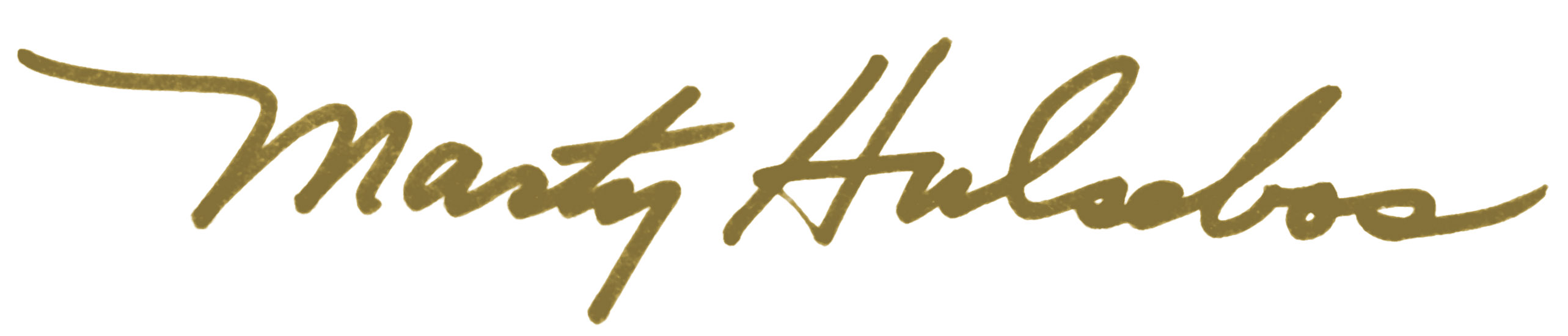 Marty Hulsebos's Signature
