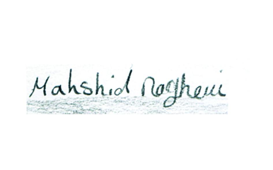 mahshid raghemi's Signature