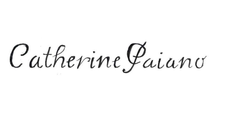 Catherine Paiano's Signature