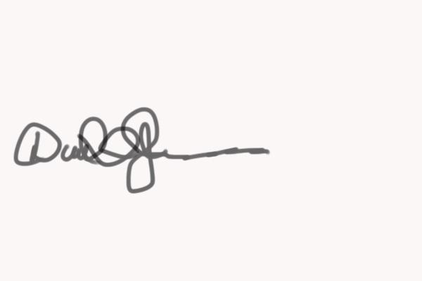 David Jackson's Signature