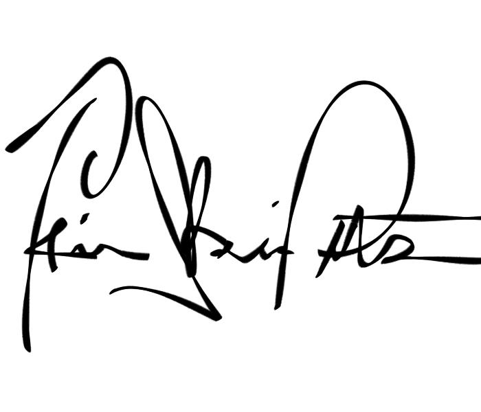 Trina Pitschner's Signature