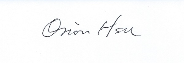 Orion Hsu's Signature