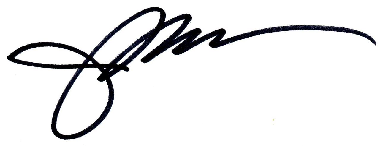 Judith Monroe's Signature