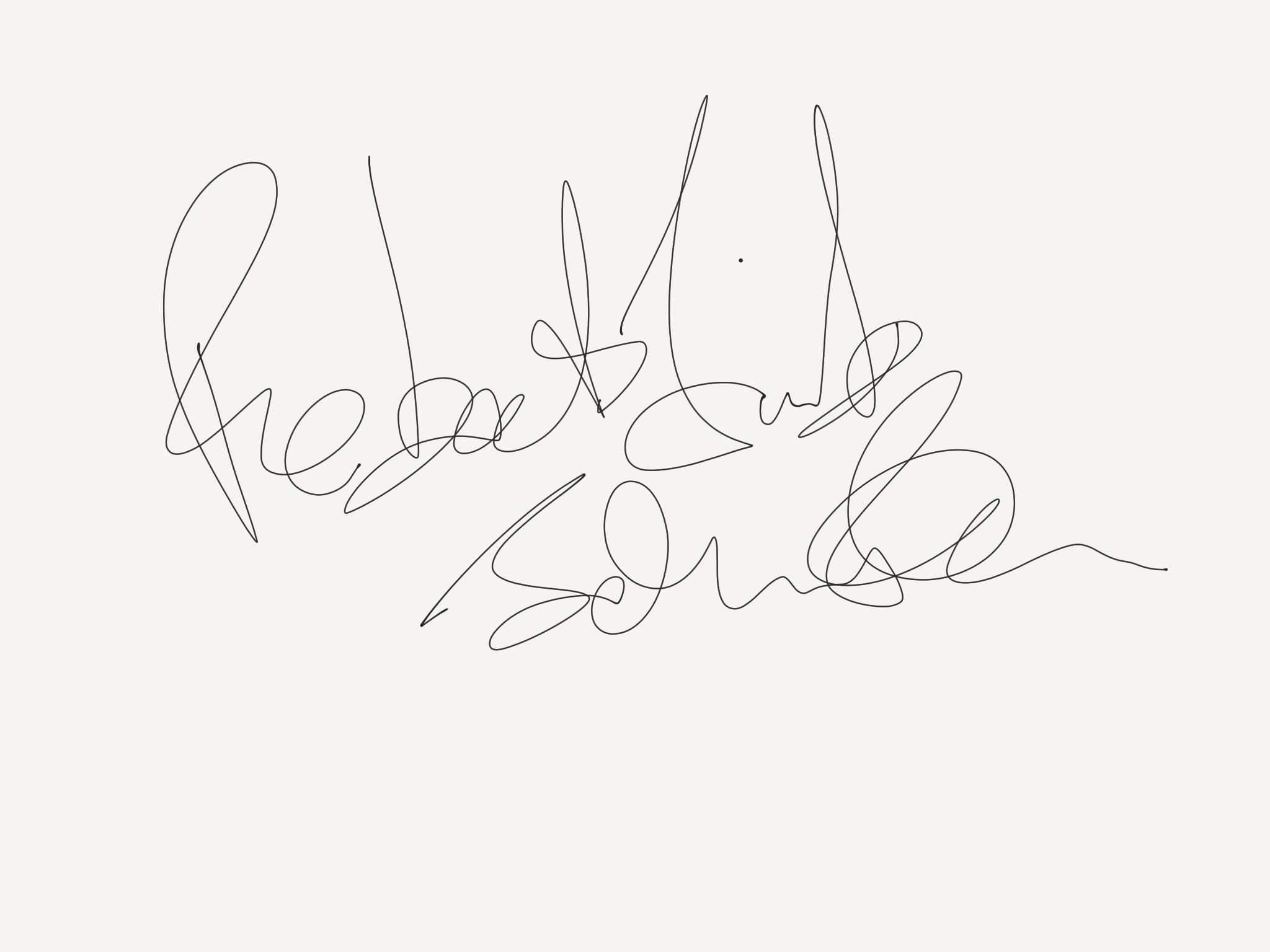 Robert Trick Johnston's Signature