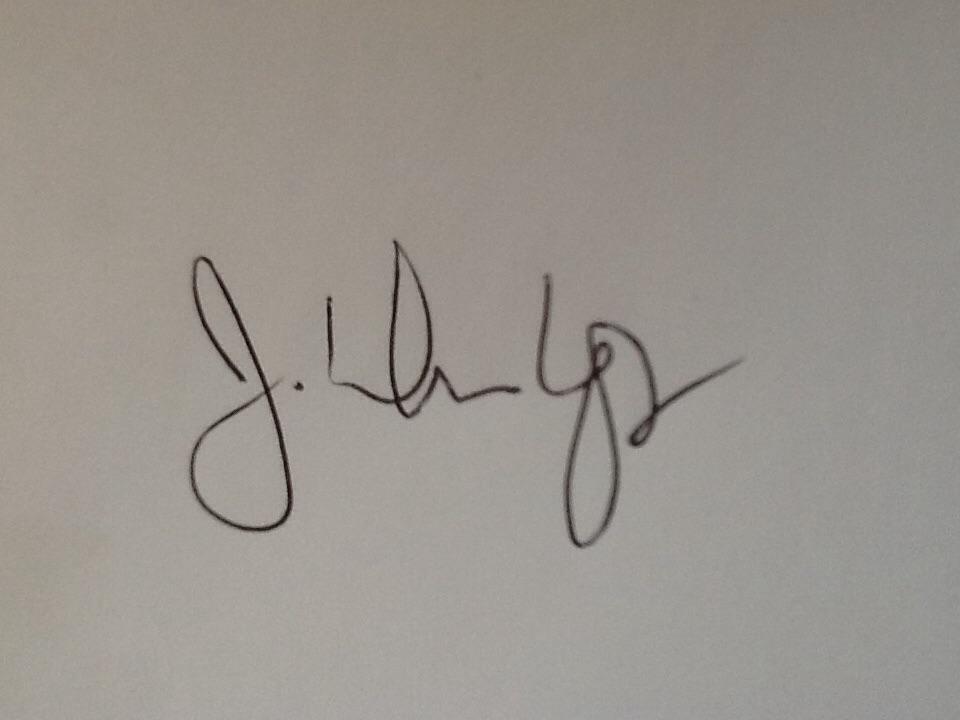 John Dunlop Sr.'s Signature