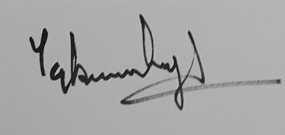 Tejbir Singh's Signature