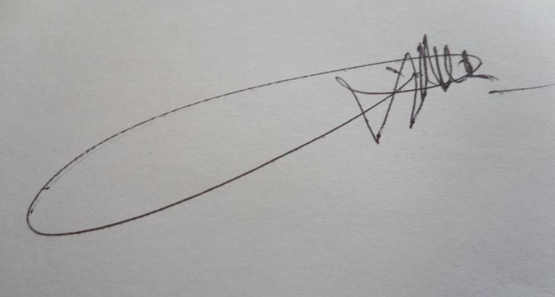 Zenon ROZYCKI's Signature