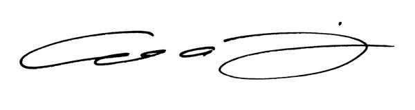 Colin johnson's Signature